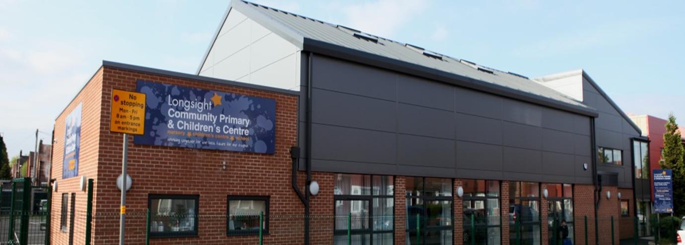 Longsight Children's Centre from the outside