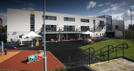 Ardwick Children's Centre from the outside