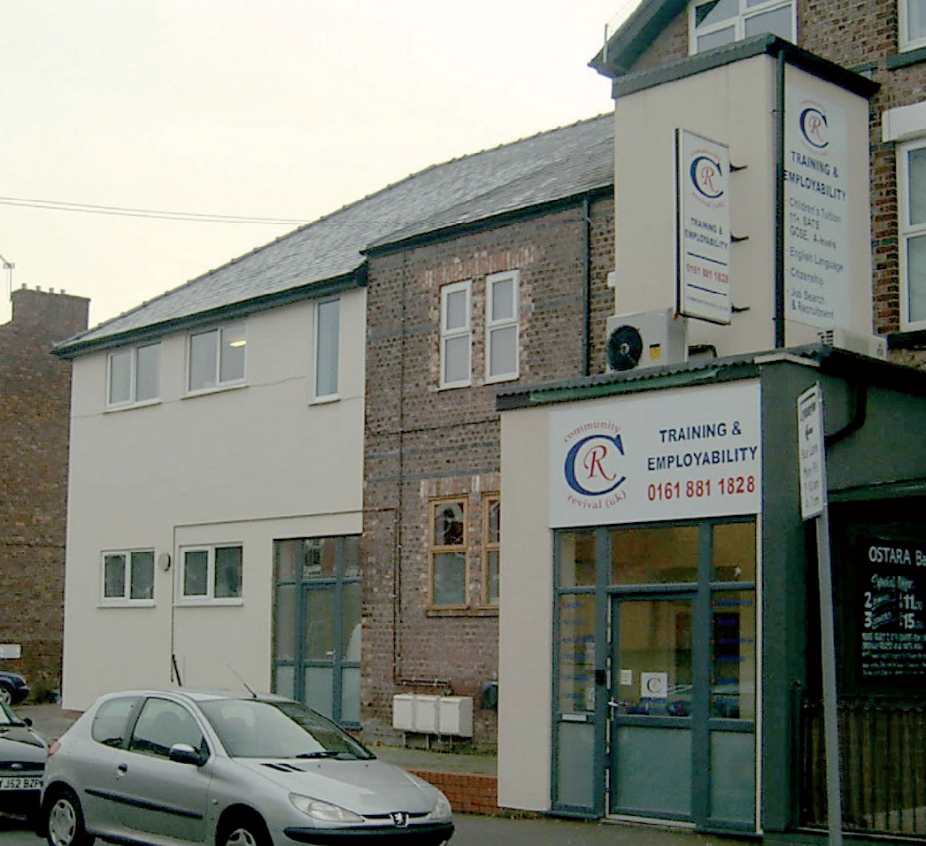 Community Revival building from the outside